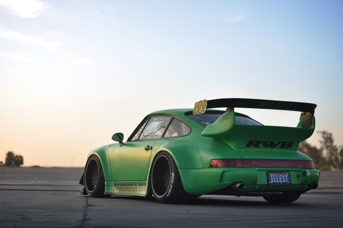 964 Wide Body Racing Rauh Welt Begriff Usa